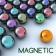 jouer à Magnetic balls puzzle game