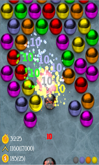 Magnetic balls puzzle game